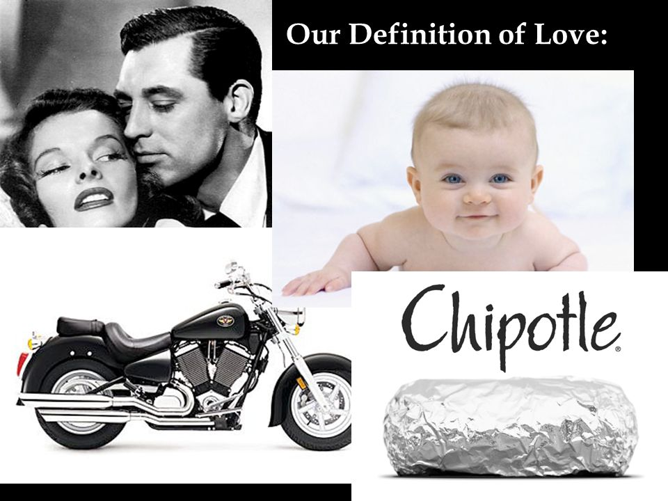 Our Definition of Love: