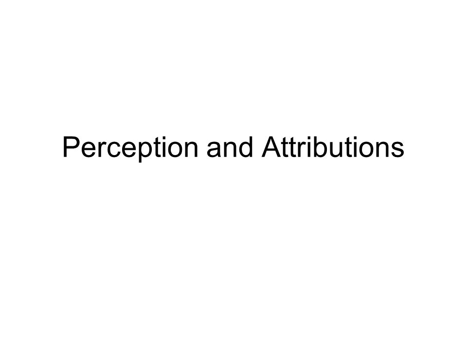 perception The process of interpreting and understanding our surroundings.