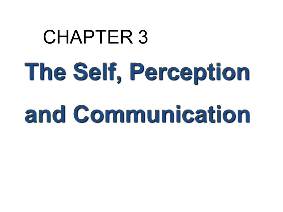 The Influence of Gender and Culture on Self-Perceptions Culture and the Self-Concept Collectivistic Cultures (page 64) People belong to extended families or a group Person should take care of extended family before self Emphasis on belonging to a very few permanent in- groups Reward for contribution to group goals High value on duty, order, tradition, age, group security, status, and hierarchy