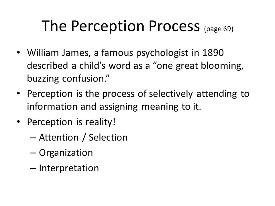 Perception of Others Uncertainty reduction – we monitor our environment to learn more about ourselves and others.