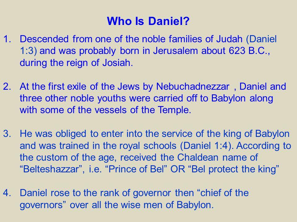 Who Is Daniel.
