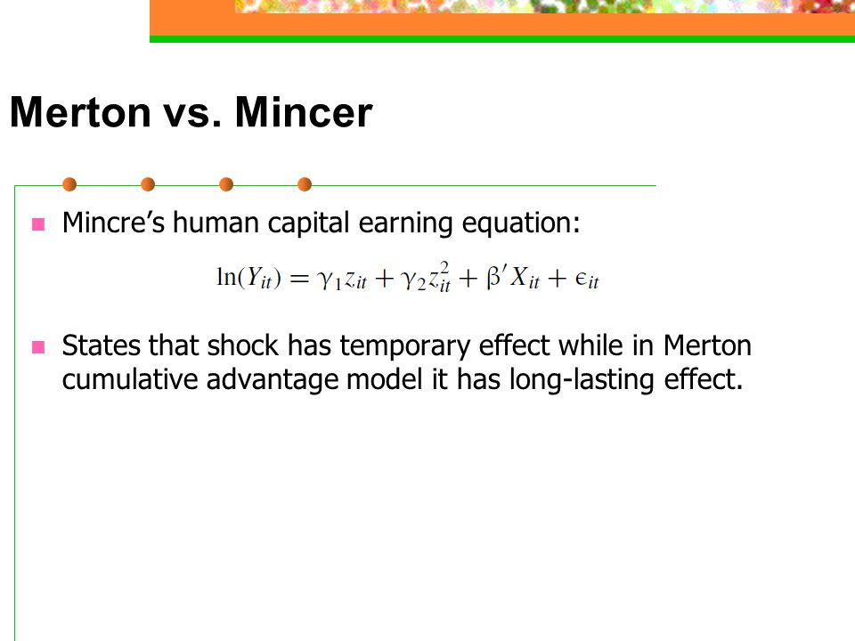 Merton vs.