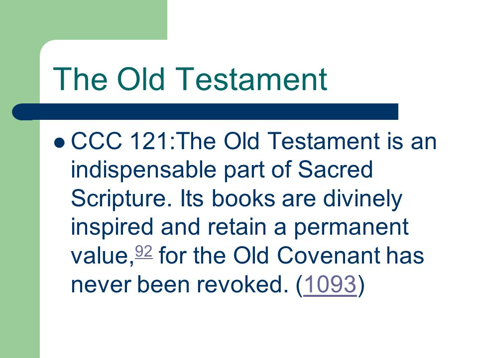 The Old Testament Who came to fulfill the prophecies of the Old Testament?