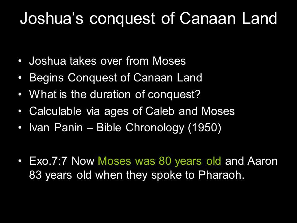 EXODUS Year 1 Moses 80 years