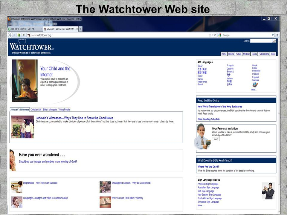 The Watchtower Web site
