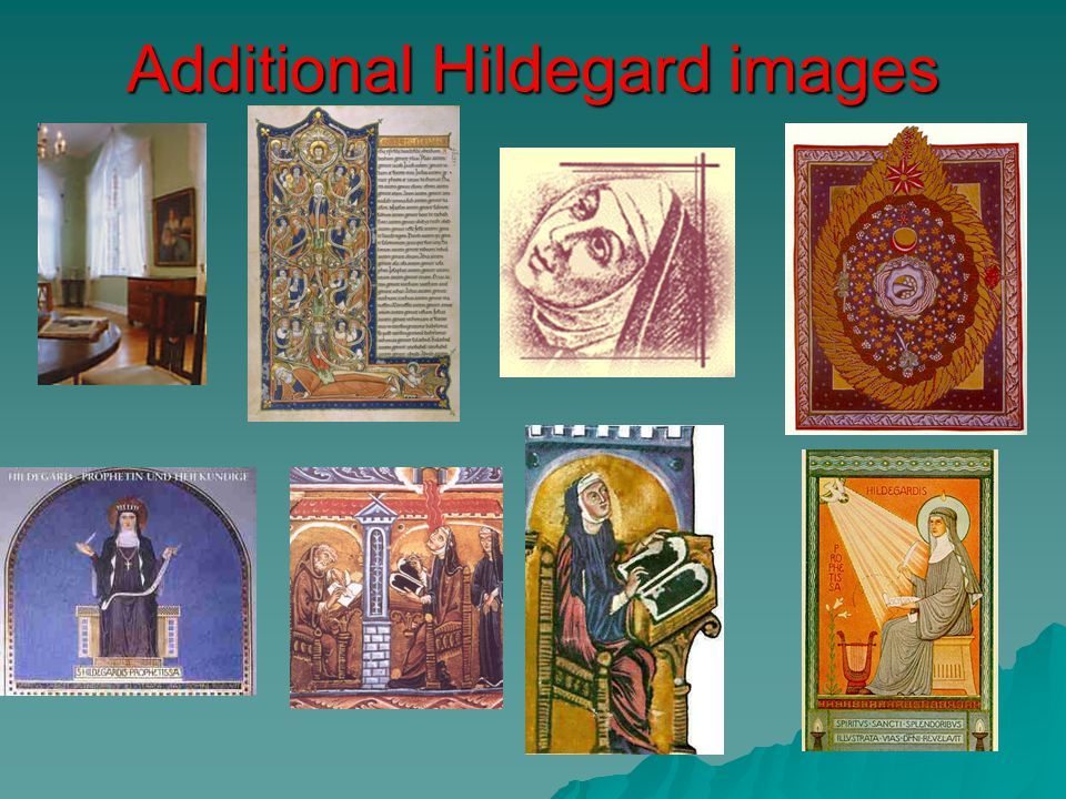 Additional Hildegard images