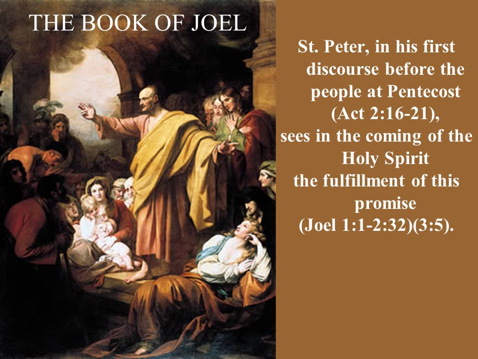 THE BOOK OF JOEL St.