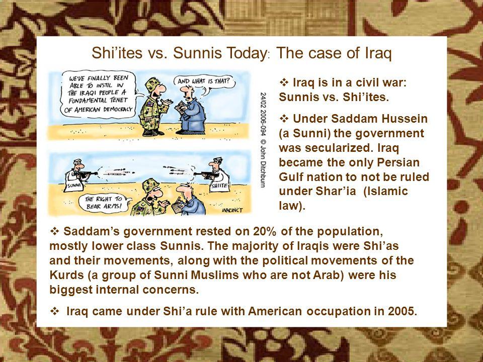 The Birth of Islam Shi'ites vs.