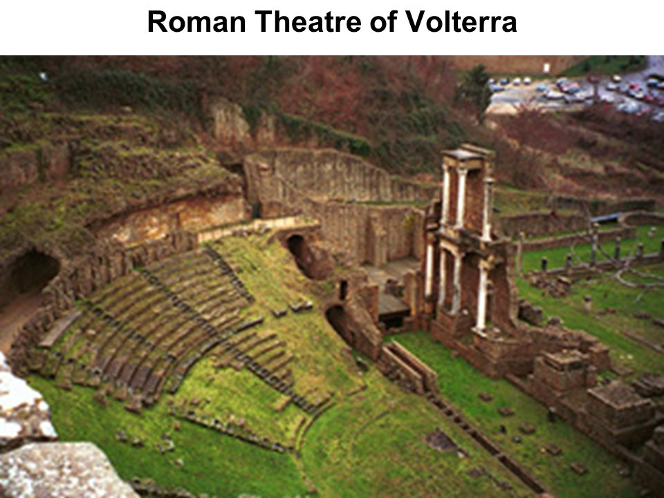 Roman Theatre of Volterra
