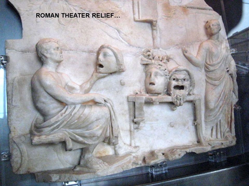 ROMAN THEATER RELIEF…