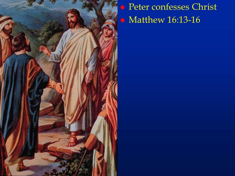 cc30 l Peter confesses Christ l Matthew 16:13-16