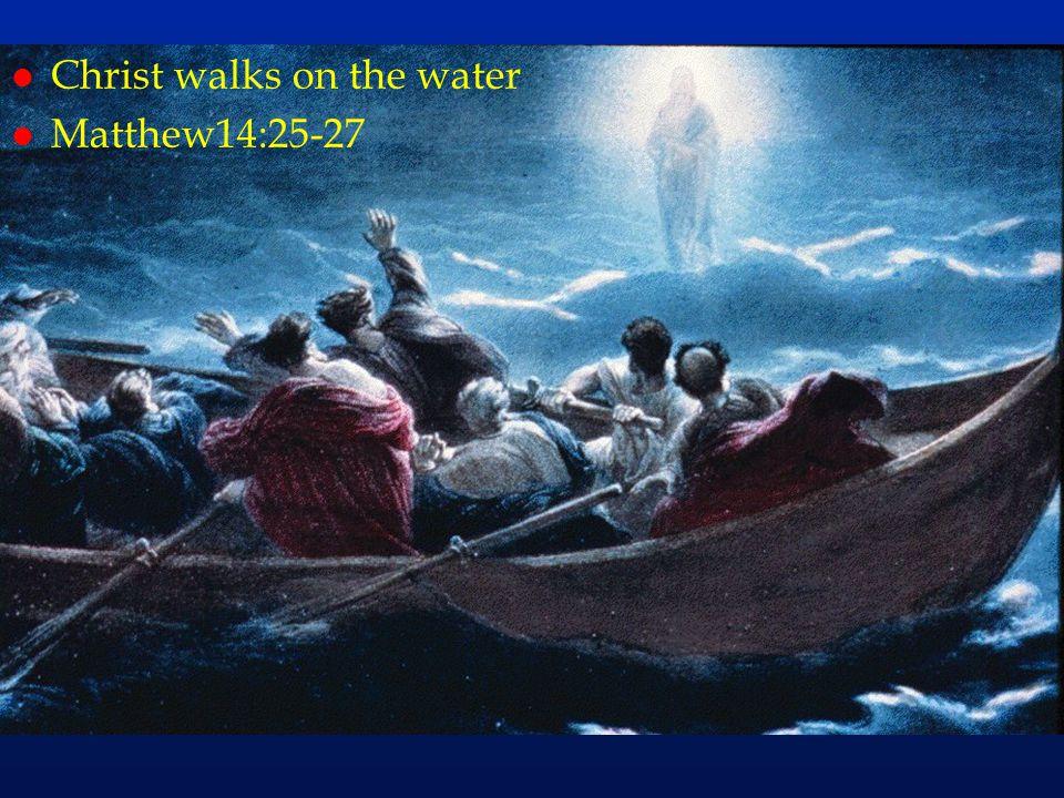 cc49 l Christ walks on the water l Matthew14:25-27