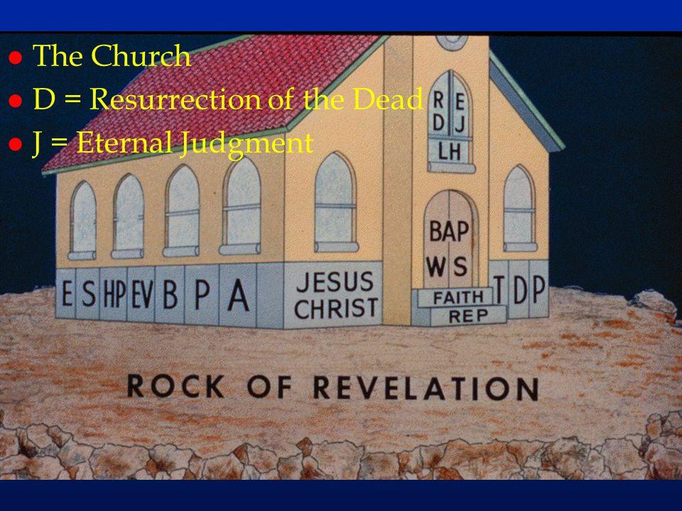 cc65 l The Church l D = Resurrection of the Dead l J = Eternal Judgment