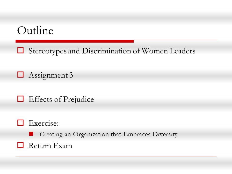 Effects of Prejudice  Self-Fulfilling Prophecy When stereotypes produce stereotype-confirming behavior  The expectations embedded in stereotypes can be a powerful guide to behavior, creating self-fulfilling prophecies Person A's Person A's Person B's Expectations Behaviors Behavior