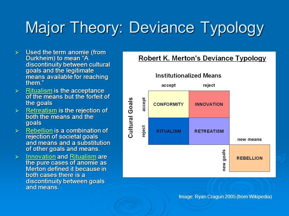 Major Theory: Sociology of Science  Sociology of science Developed the Merton Thesis which explains causes of the scientific revolution and the Mertonian norms of science, identified commonly by the acronym CUDOS Developed the Merton Thesis which explains causes of the scientific revolution and the Mertonian norms of science, identified commonly by the acronym CUDOS CUDOS is a set of ideas that are, in Merton's view, the goals and methods of science, including: CUDOS is a set of ideas that are, in Merton's view, the goals and methods of science, including:  Communalism - common ownership of scientific discoveries, according to which scientists give up intellectual property rights in exchange for recognition and esteem Communalism  Universalism - according to which claims to truth are evaluated in terms of universal or impersonal criteria, and not on factors such as ethnicity, status, gender, or faith Universalism  Disinterestedness - according to which scientists are rewarded for acting in ways that outwardly appear to be selfless Disinterestedness  Organized Skepticism - all ideas must be thoroughly tested and be made subject to community scrutiny Organized Skepticism Organized Skepticism
