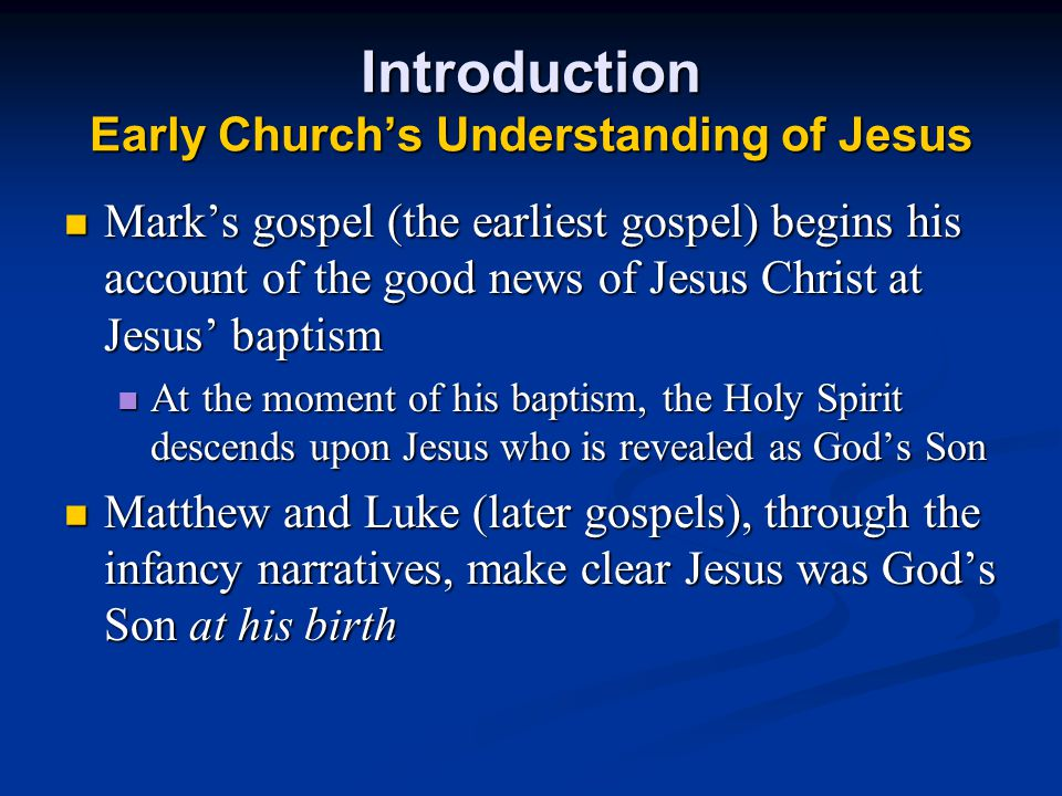 The Presentation of Jesus in the Temple Luke 2:22-40