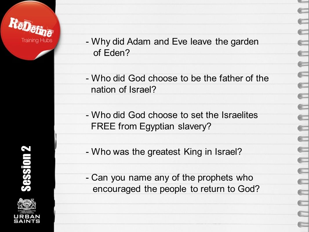- Can you name any of the prophets who encouraged the people to return to God.