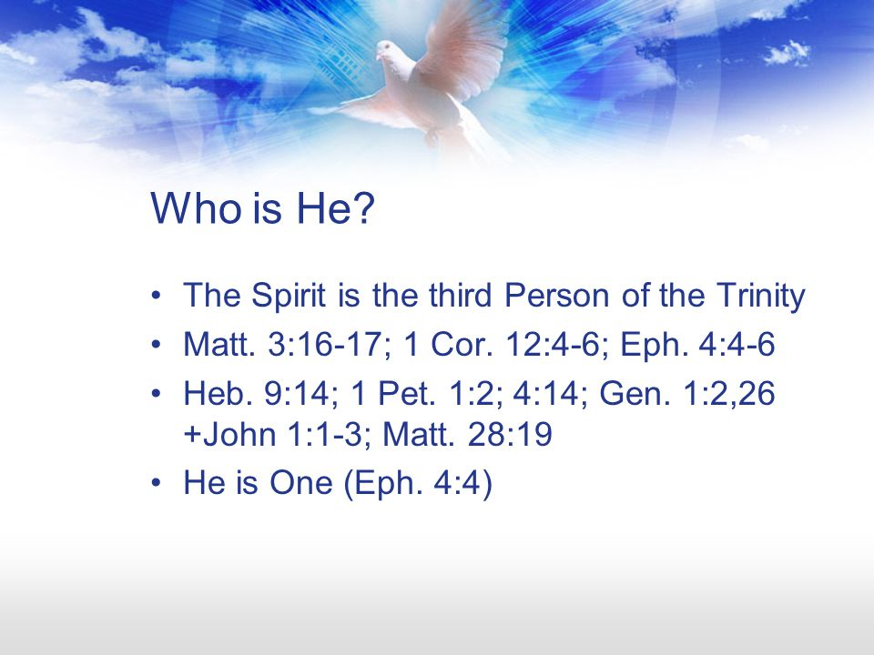 The Ministry of the Spirit to the Believer 44