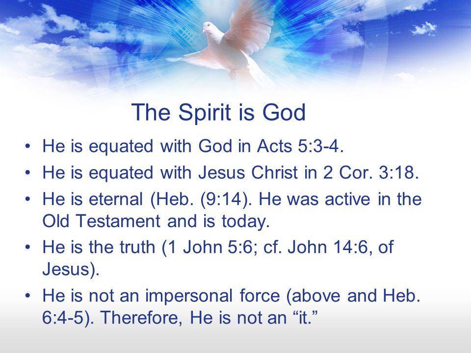 Walk in the Spirit We are commanded to walk in the Spirit (Gal.