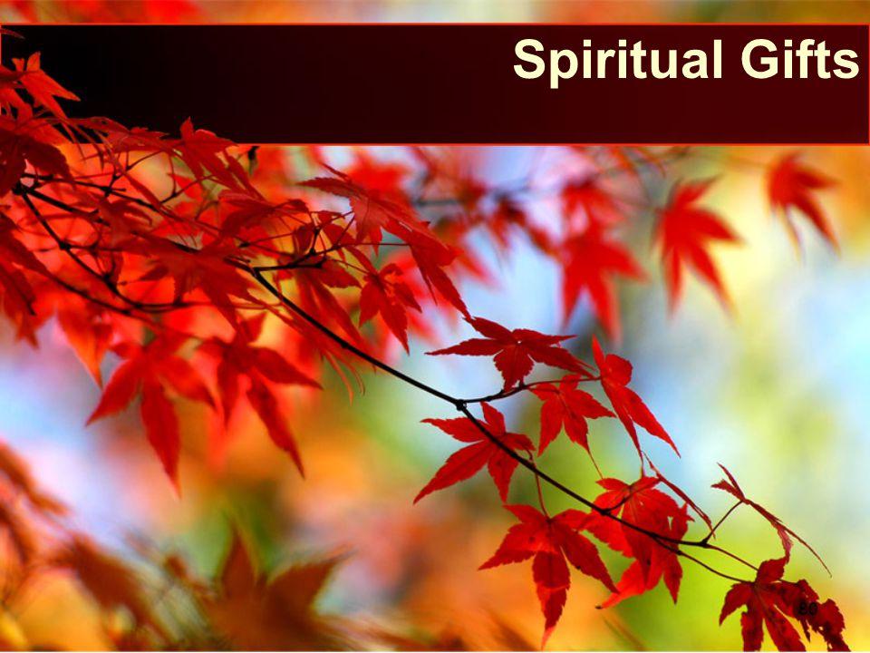 Spiritual Gifts 80