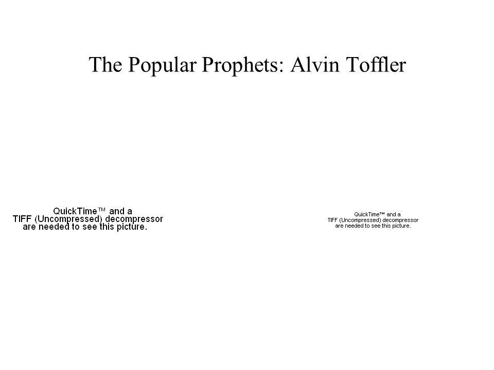 The Popular Prophets: Alvin Toffler