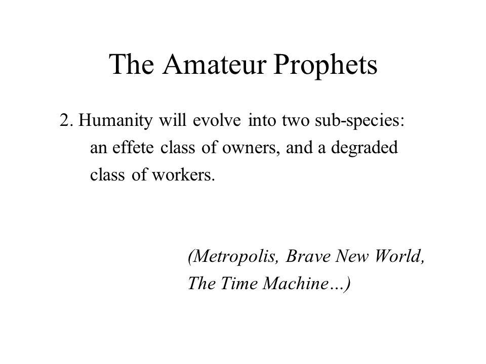 The Amateur Prophets 2.