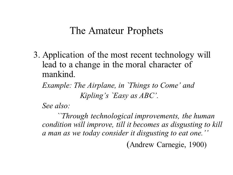 The Amateur Prophets 3.