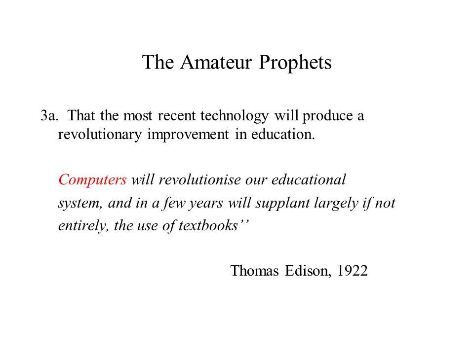 The Amateur Prophets 3a.