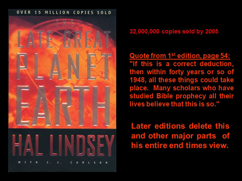 32,000,000 copies sold by 2005 Quote from 1 st edition, page 54: