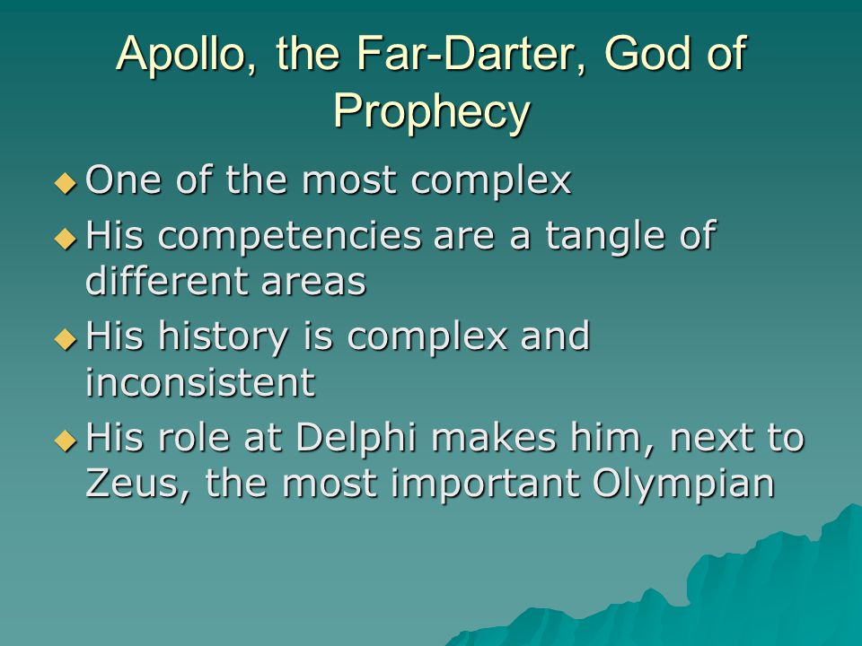 Apollo Apollo-sun God, archer god-arrows of sickness Lord of Mice- daughter of Chryses captured and the priest prays to Apollo who sends a plague of sickness