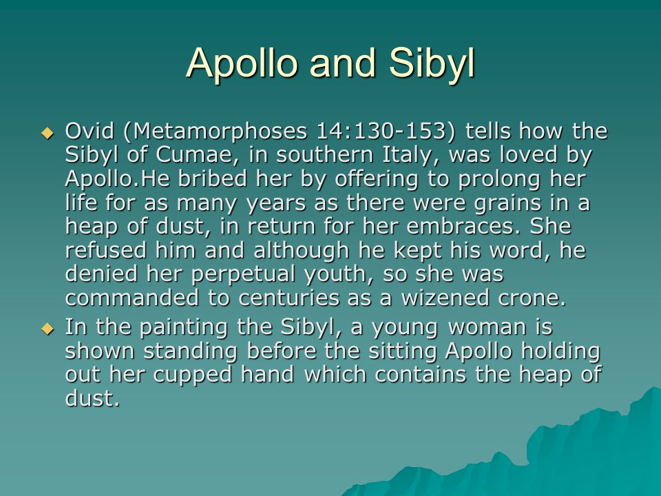Apollo and Sibyl