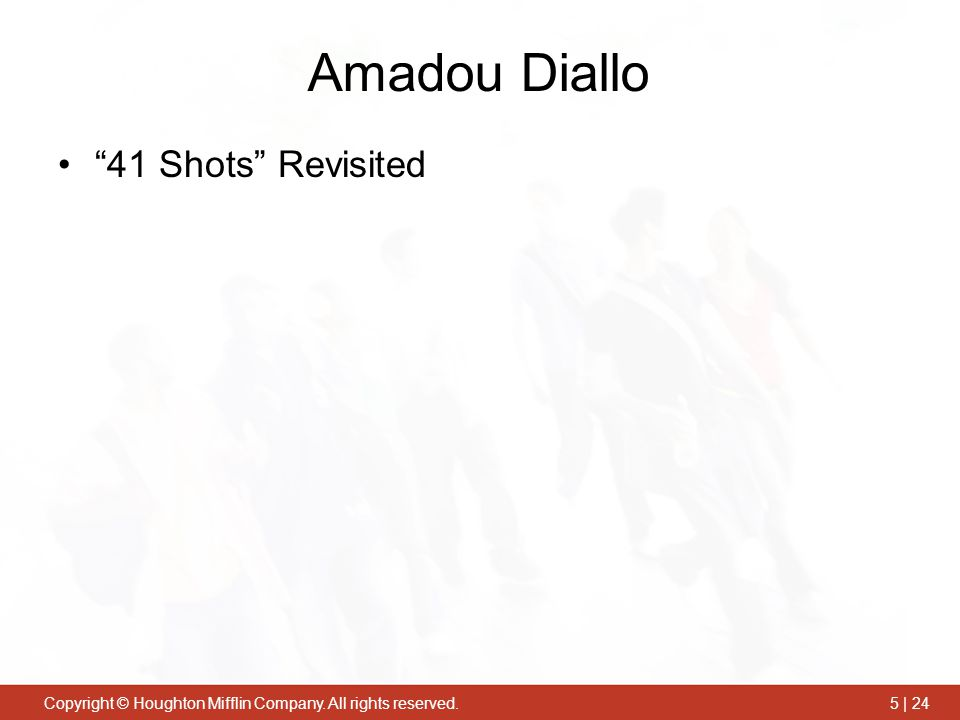 """Copyright © Houghton Mifflin Company. All rights reserved.5 