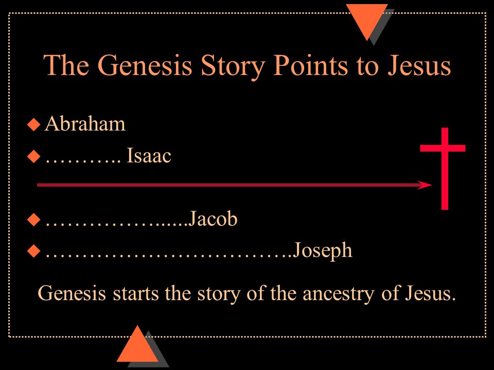 Genesis Points to Jesus u Gen.