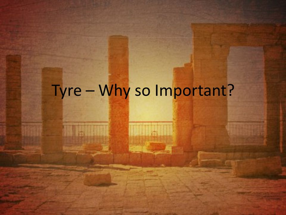 Tyre – Why so Important