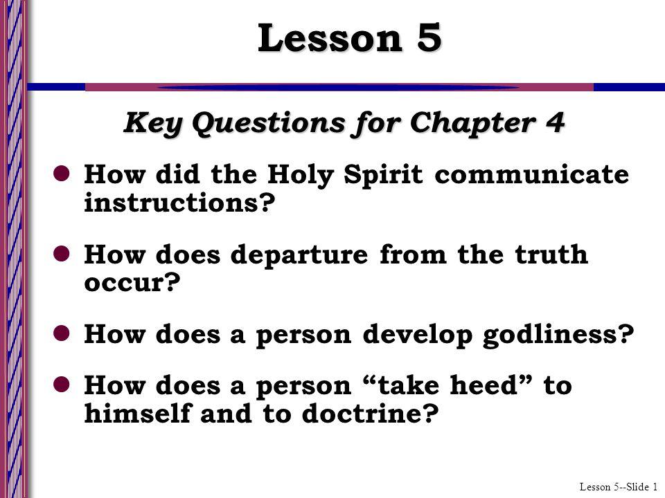 Lesson 5--Slide 2 Church Digression (Ch.