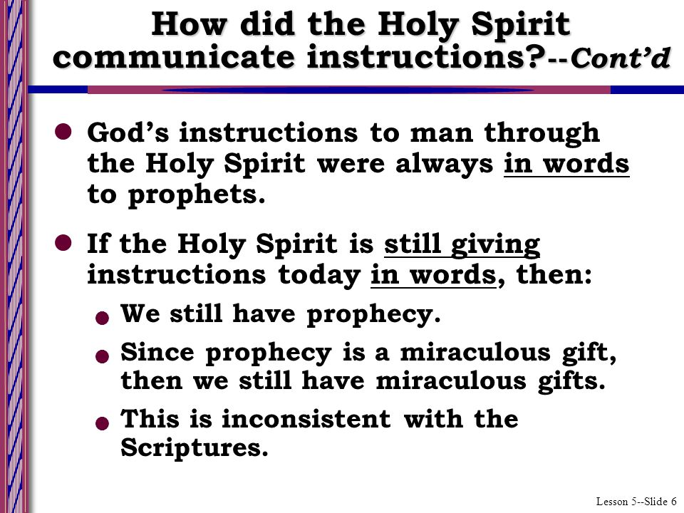 Lesson 5--Slide 17 What will be the result if Timothy takes heed to himself and the doctrine in the ways discussed.
