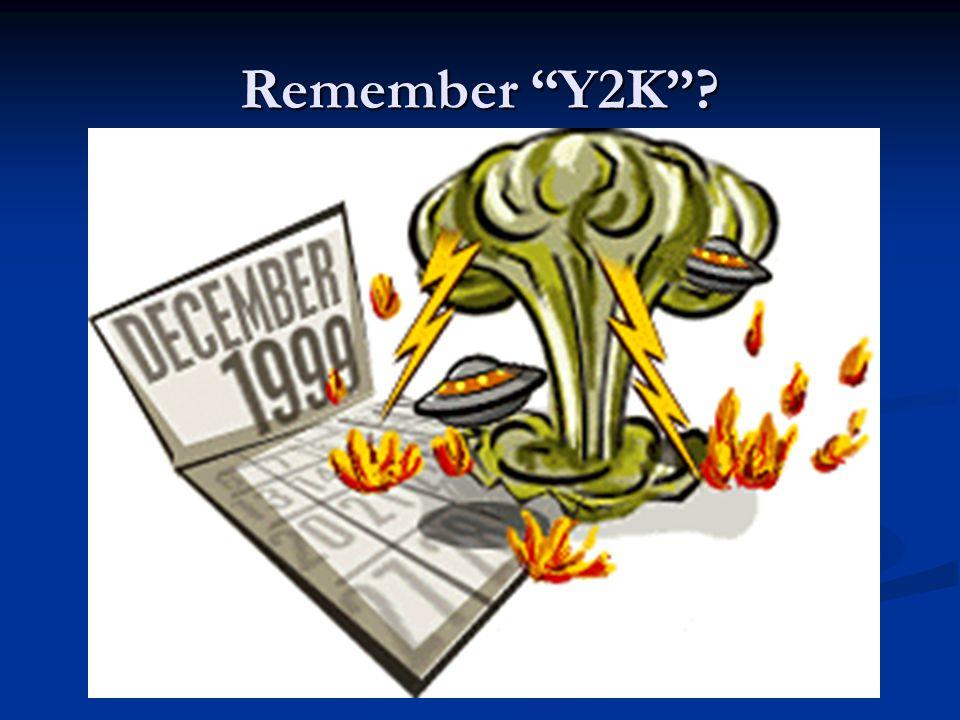 Remember Y2K