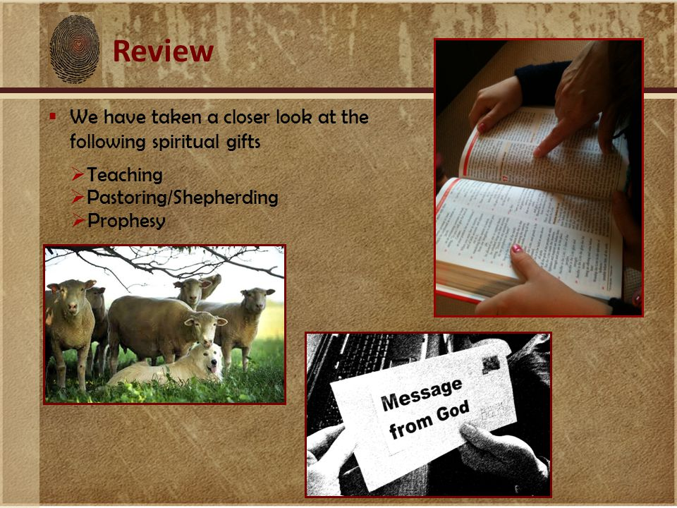 Spiritual Gifts For Building Up God's Church Romans 12 exhortation giving leadership mercy prophecy service teaching hospitality Ephesians 4 apostle evangelism pastor prophecy teaching 1 Peter 4 serving teaching 1 Corinthians 12 administration apostle discernment faith healing helps knowledge miracles prophecy teaching tongues wisdom interpretation of tongues