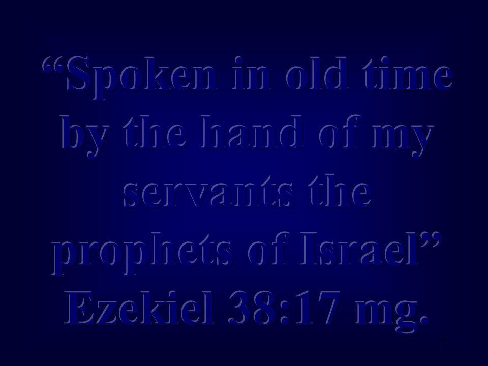 22 Ezekiel 38