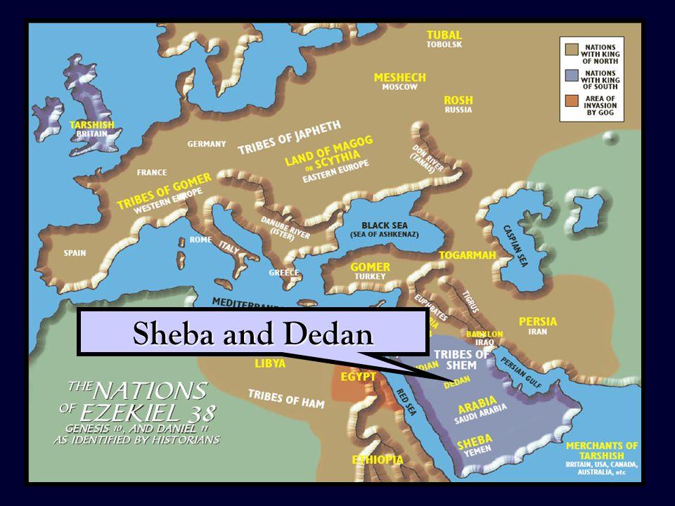 34 Sheba and Dedan