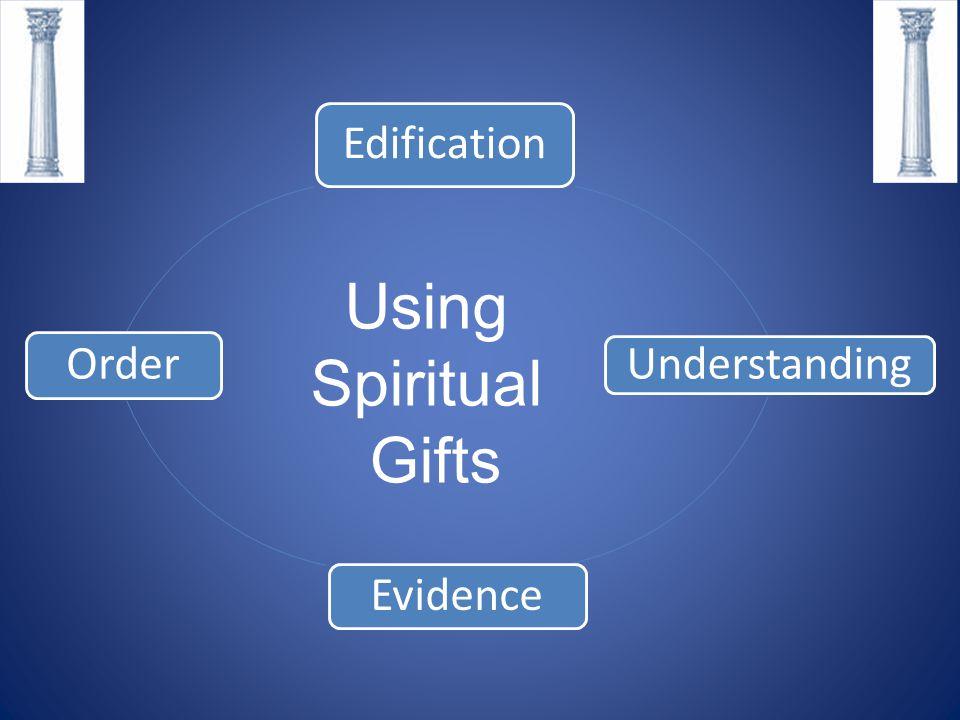 Using Spiritual Gifts