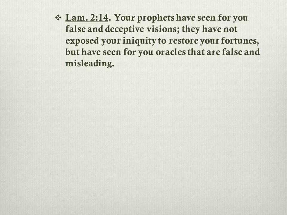 Lam.2:14.