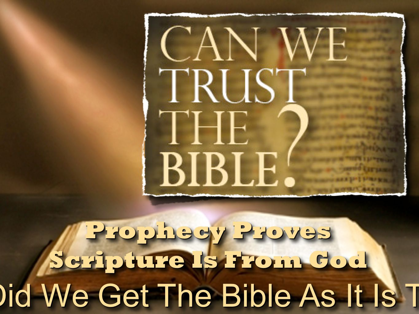 The Trustworthiness of The Scriptures Prophecies Regarding Jesus Fulfilled Prophecy Hebrew Scripture New Testament Fulfillment 30 pcs silver thrown in templeZechariah 11:13Matthew 27:5 Forsaken by His disciplesZechariah 13:7Matthew 26:56 Accused by false witnessesPsalm 35:11Matthew 26:60 Silent to accusationsIsaiah 53:7Matthew 27:14 Heal blind/deaf/lame/dumb Isaiah 35:5-6; 29:18 Matthew 11:5 Preached to the poor/brokenhearted/captives Isaiah 61:1Matthew 11:5 To bring a sword, not peaceMicah 7:6Matthew 10:34-35 He bore our sicknessIsaiah 53:4Matthew 8:16-17