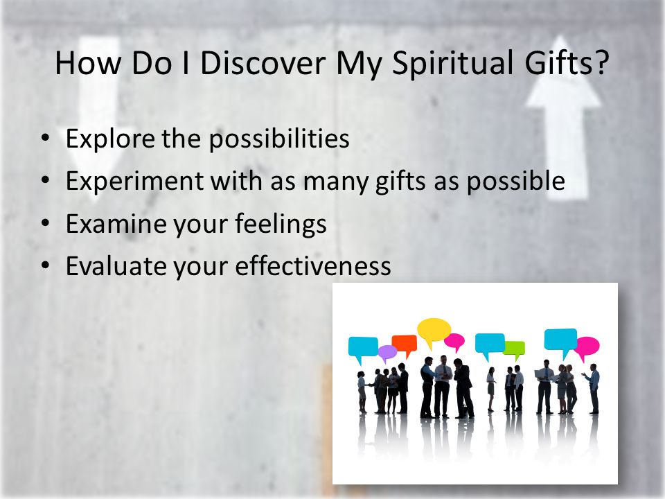 How Do I Discover My Spiritual Gifts.