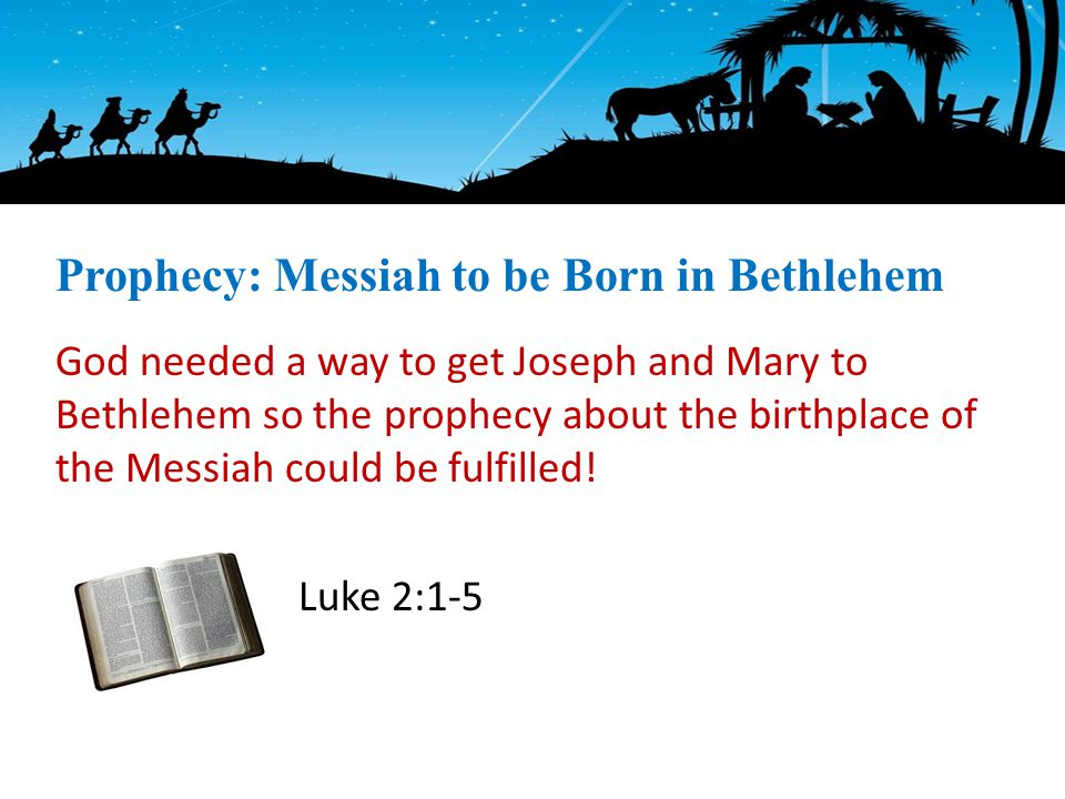 God needed a way to get Joseph and Mary to Bethlehem so the prophecy about the birthplace of the Messiah could be fulfilled.