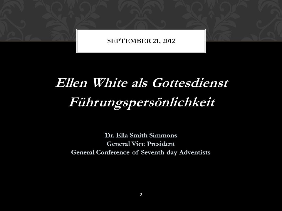 Ellen White ascribed to the servant leader model, after Christ's life example.