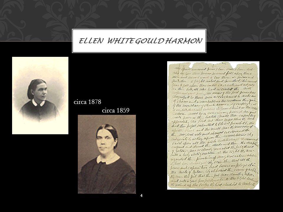 ELLEN WHITE GOULD HARMON 4 circa 1878 circa 1859