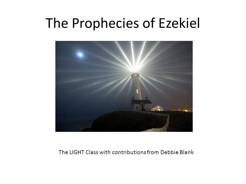 The prophecies of Ezekiel parallel those of Revelation Source: Teachinghearts