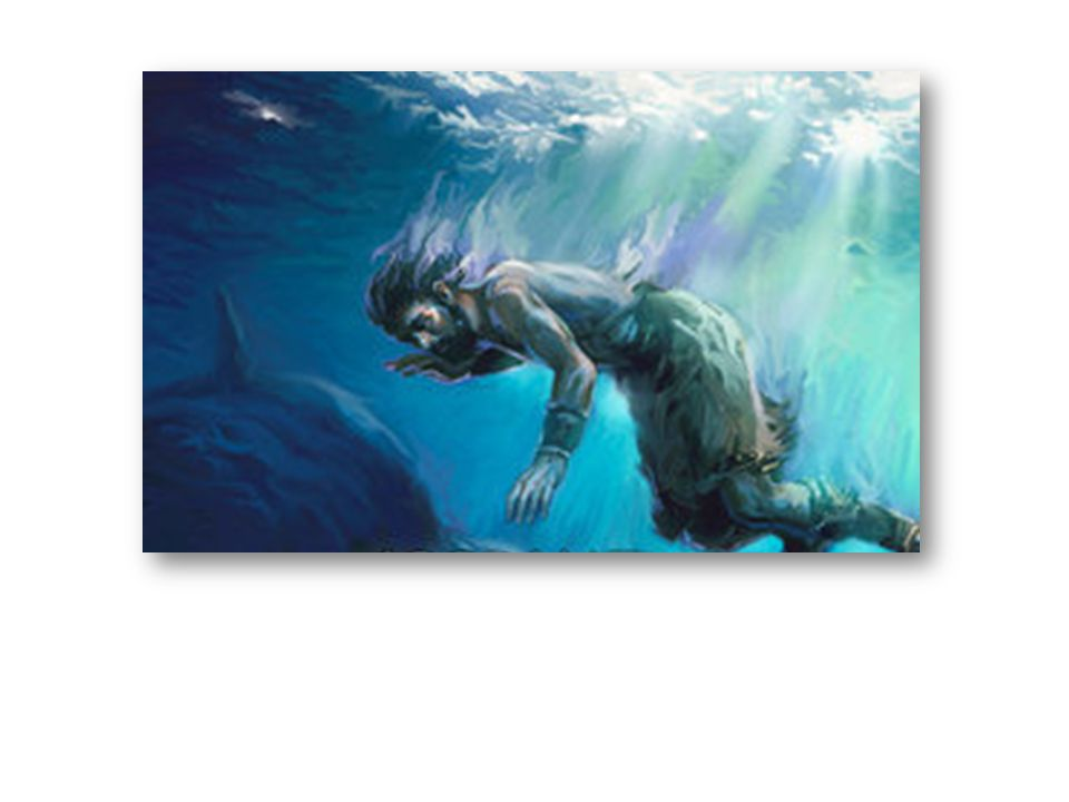 Jonah was a prophet, tried to run away. Didn't go to Nineveh, instead he went astray. A Storm began to rock his boat going to Tarshish, Overboard they