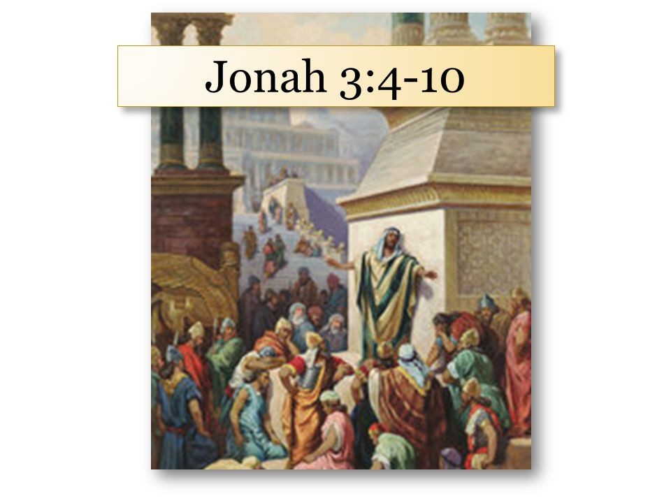 God is a God of second chances. Jonah 3:1-2